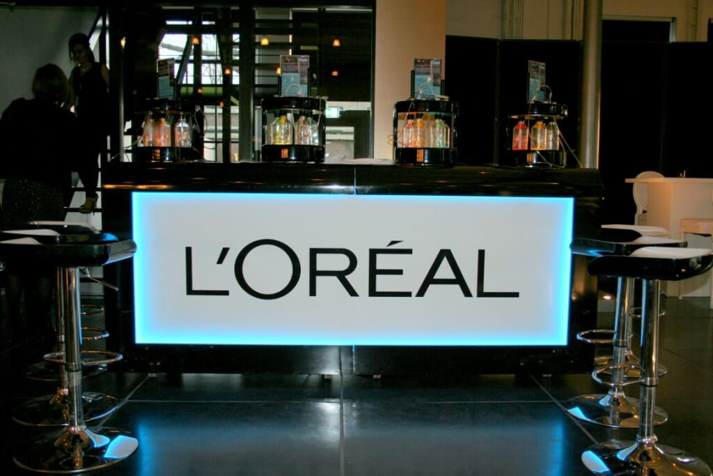 the oxygenbar for L'oreal